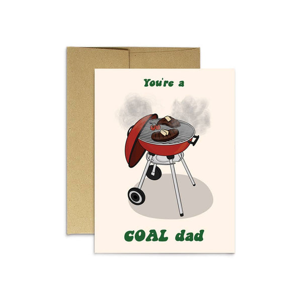 Coal Dad Card