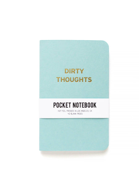 Dirty Thoughts pocket notebook
