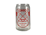 Ohio Cardinals Glass