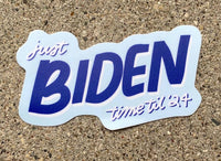 Biden Time Sticker