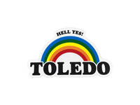 Hell Yes Toledo Sticker