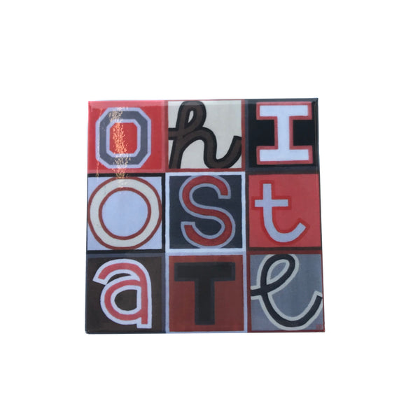 Fiber and Gloss Ohio State Magnet