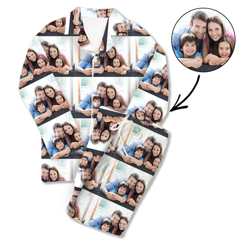 Custom Photo Pajamas With Whole Photo