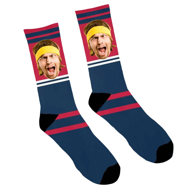 Custom Photo Socks Funny Face
