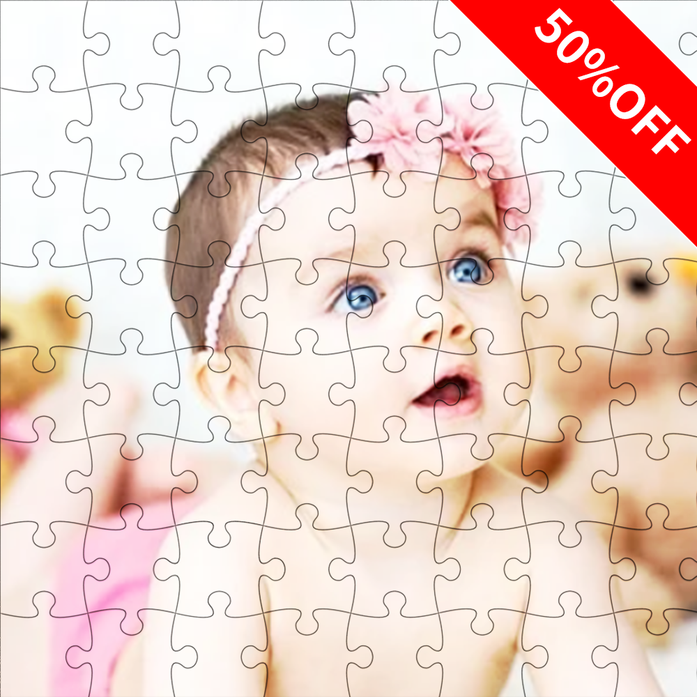 Custom Photo Jigsaw Puzzle I Love My Baby Stay At Home Gift 35-1500 Pieces