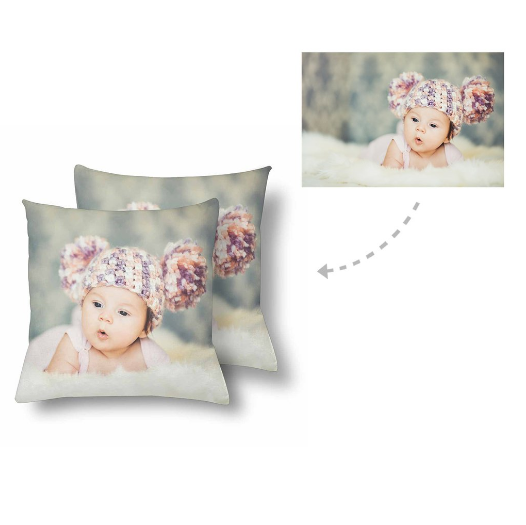Custom Baby Photo Pillow - Make Custom Gifts