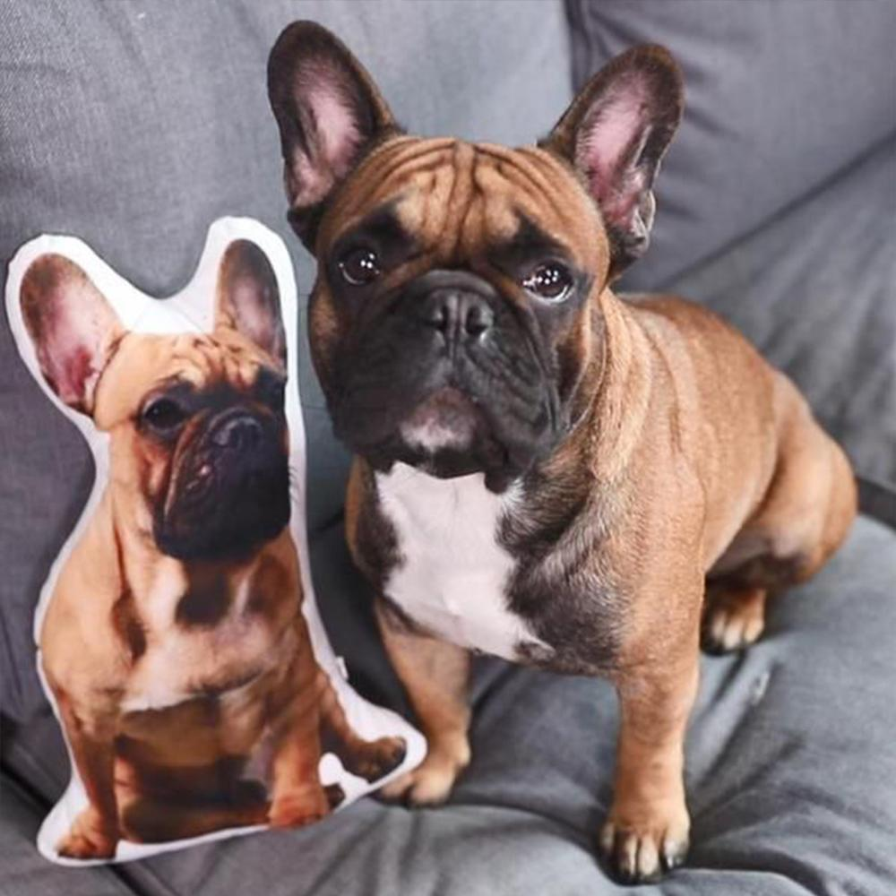 Custom Dog Face Pillows