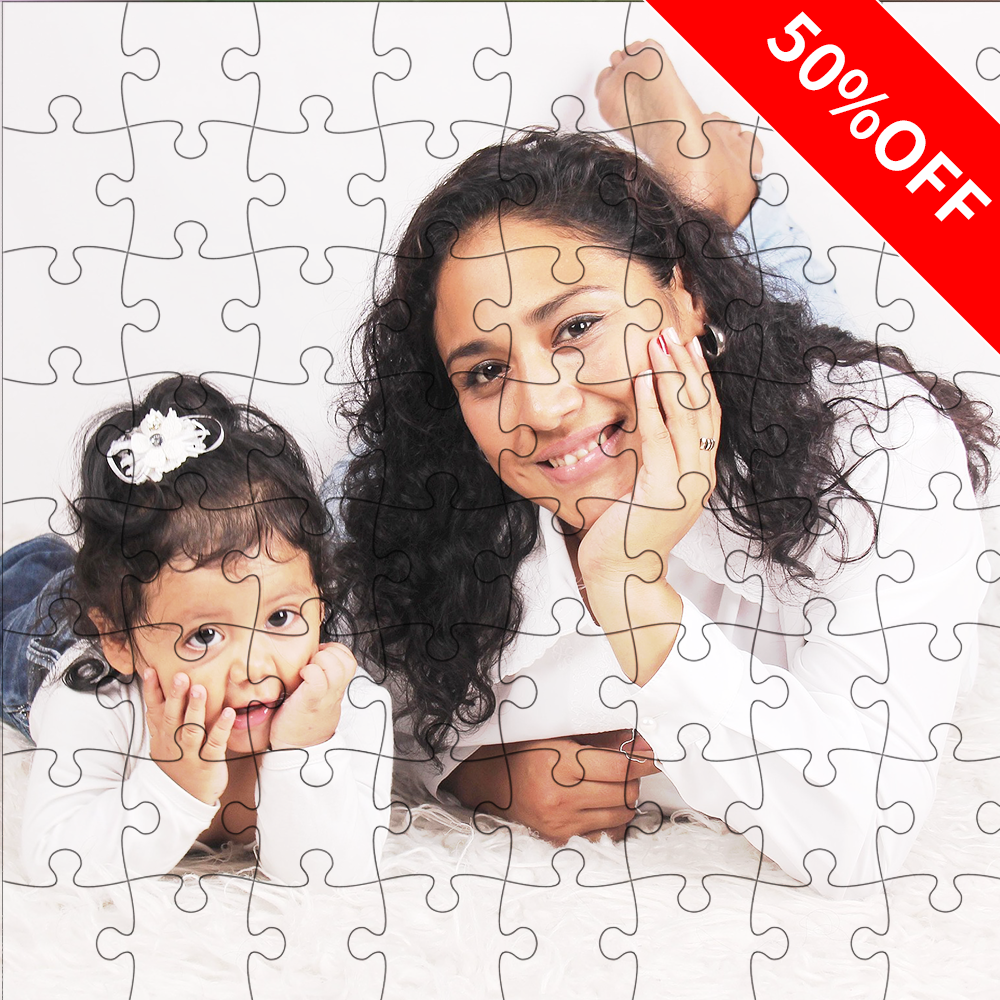 Custom Photo Jigsaw Puzzle Mother's Day Gift 35-1500 Pieces