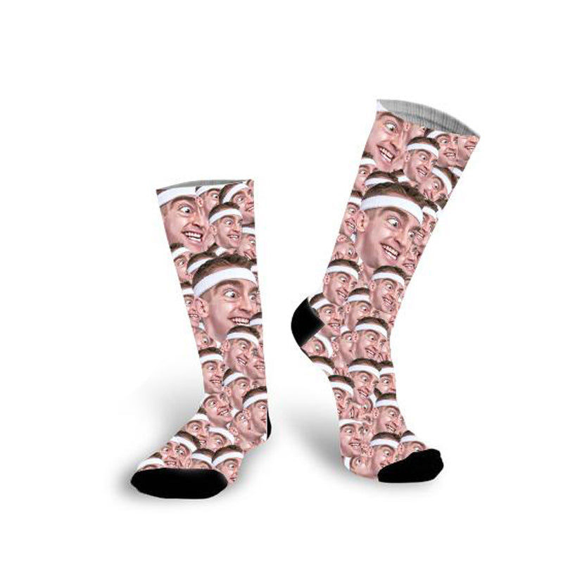 Custom All Men Face Socks Photo Socks