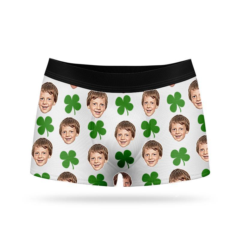 Custom Face Boxers - Good Luck
