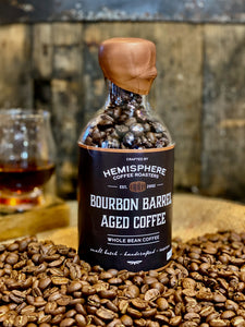 Bourbon Barrel-Aged Coffee | 5.5oz bottle