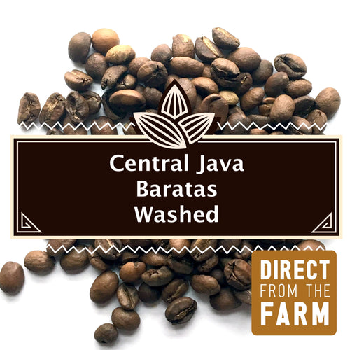 Central Java Baratas Washed | Medium/Light Roast