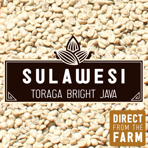 GREEN Sulawesi Toraja Bright Java | 2lb.