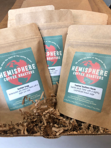 Flavored Coffee Sample Pack | 5-3oz. Bags