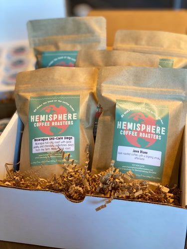 Coffee Sample Pack | 5-3oz. Bags