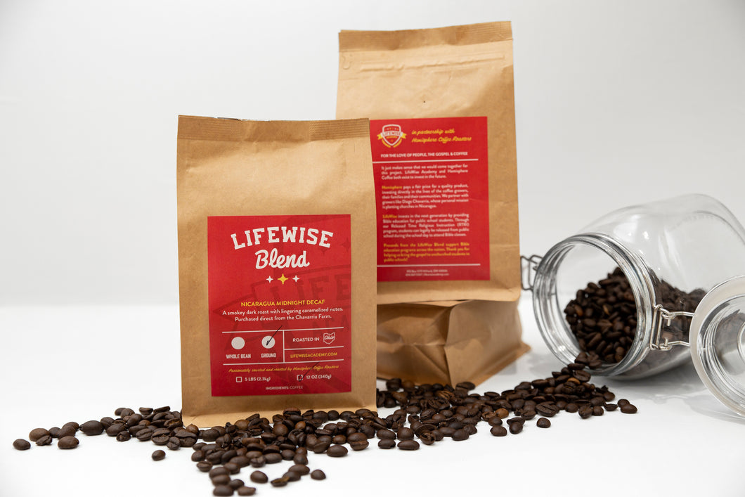 LifeWise Midnight Decaf - Dark Roast