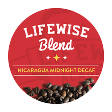 Load image into Gallery viewer, LifeWise Midnight Decaf -Dark Roast | Single Cup