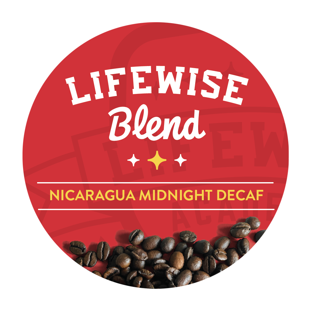 LifeWise Midnight Decaf -Dark Roast | Single Cup