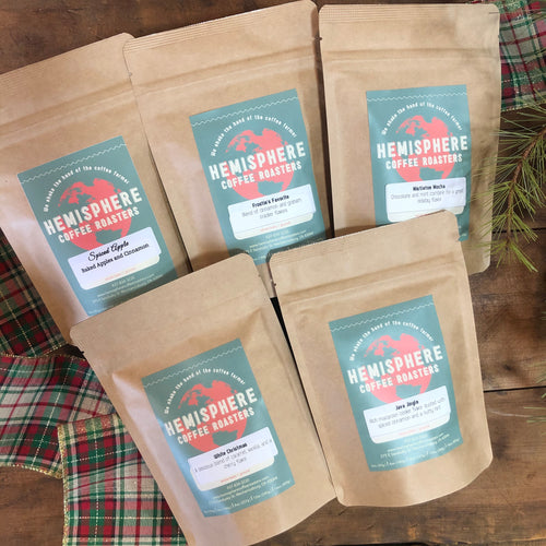 Christmas Sampler Gift Pack | 5-3oz. Bags of Christmas flavors
