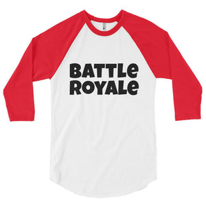 Battle Royale 3/4 Sleeve Baseball Tee - Get It Gamer