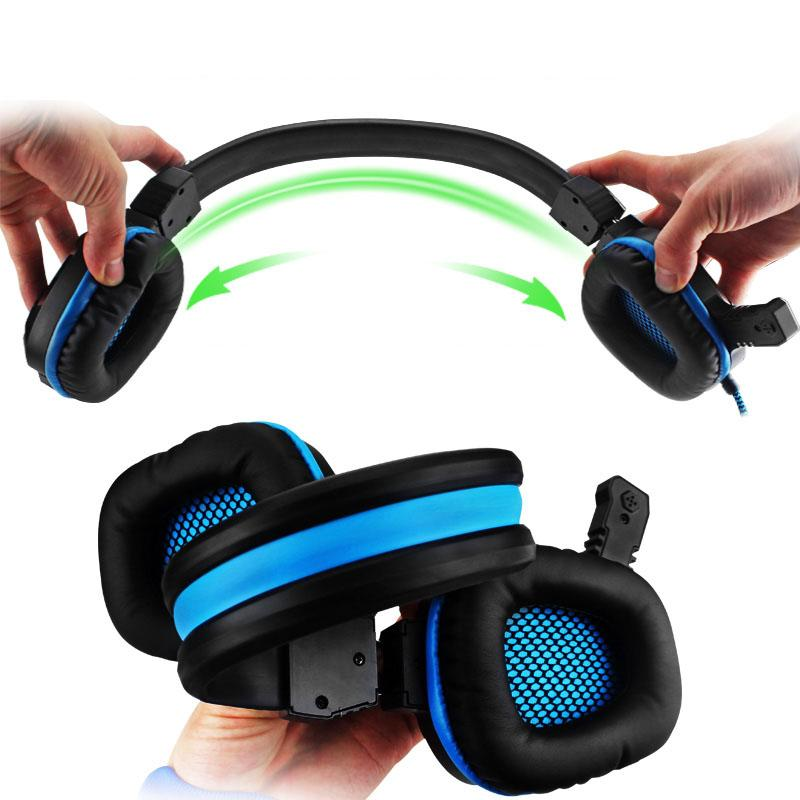 Deep Bass Gaming Headset LED Noise Canceling Headphones with Microphones - Get It Gamer