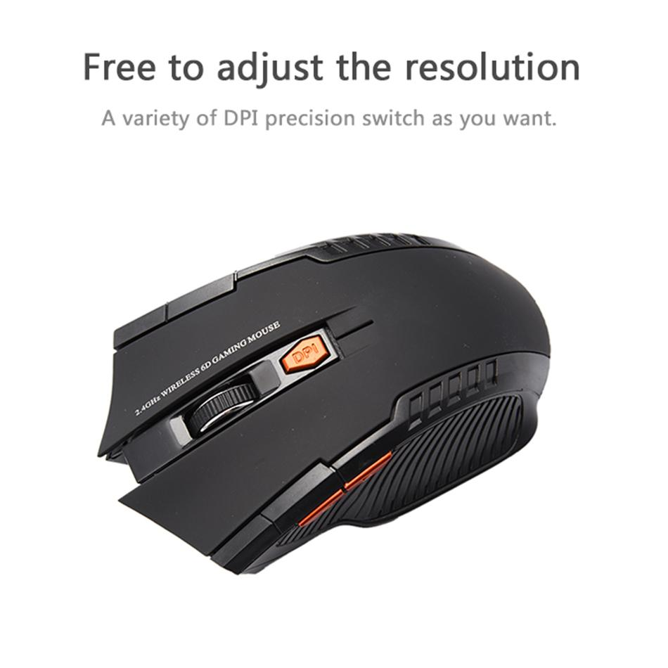 2.4GHz Wireless Optical Gaming Mouse - Get It Gamer