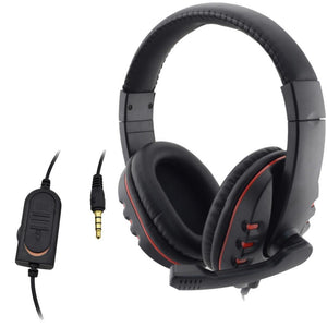 Wired 3.5mm Gaming Headset with Microphone For PS4 - Get It Gamer