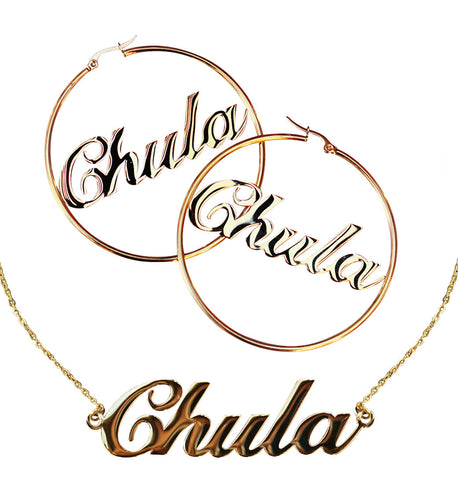 Chula Hoops & Necklace Set