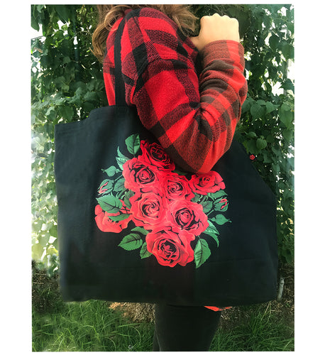 Bed of Roses Tote