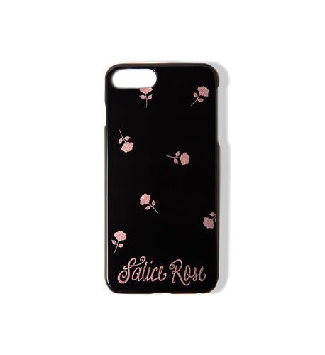 Salice Rose Script iPhone Case