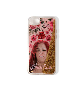 Salice Face with Glitter iPhone Case