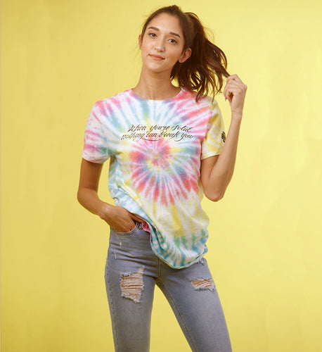 When You're Solid Tie Dye Tee
