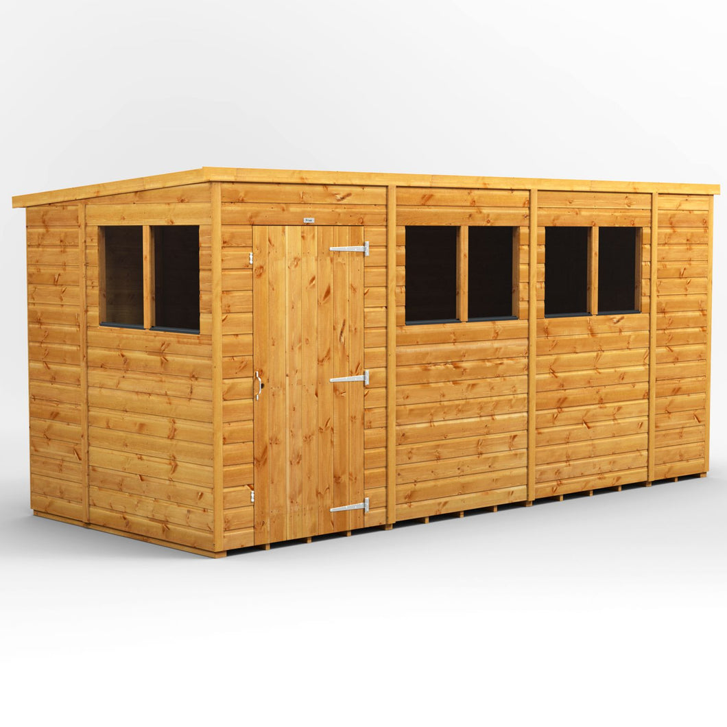 14x6 Garden Shed | Power Shed | Garden Shed