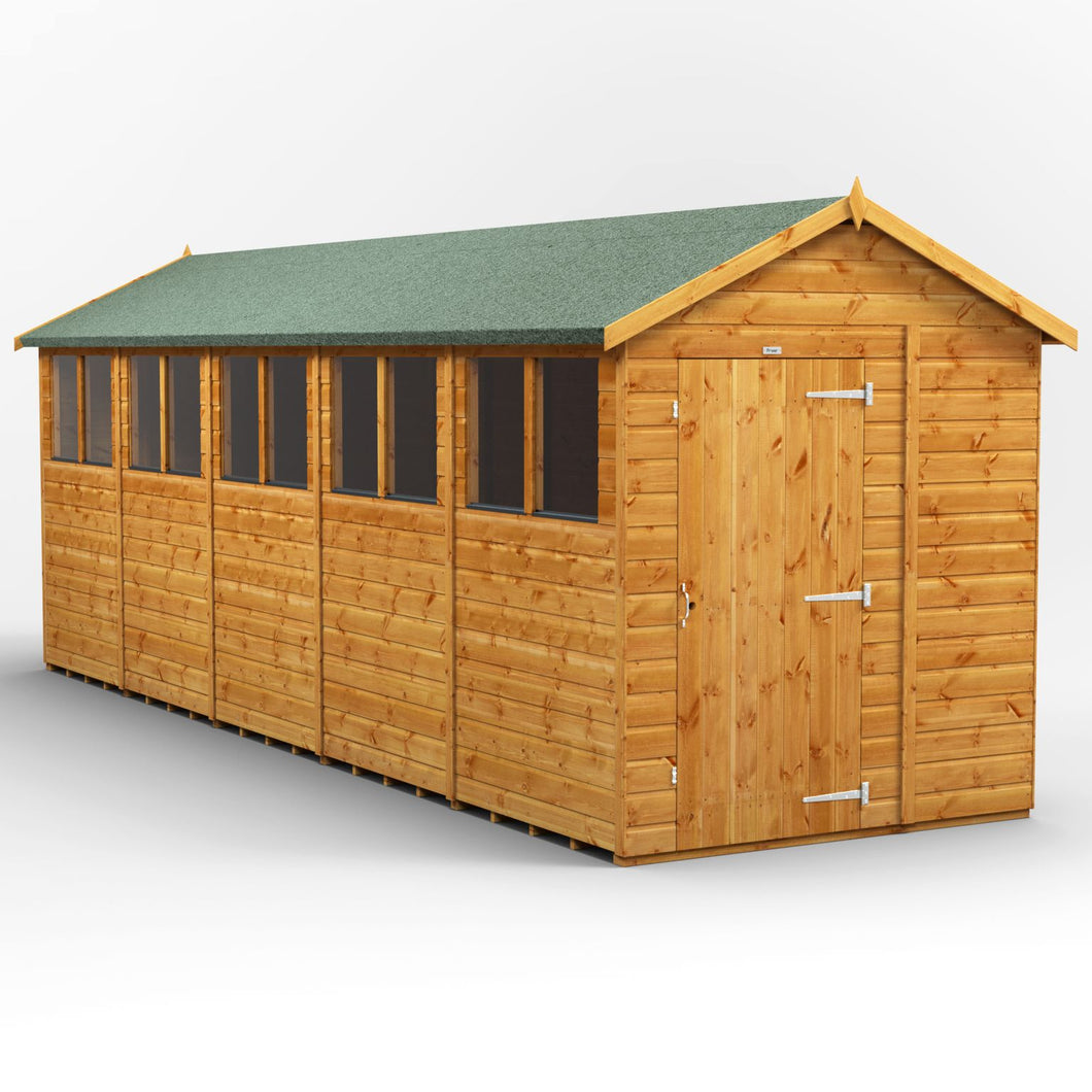 20x6 Garden Shed | Power Shed | Garden Shed