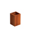 Corten Steel Planter Basics -370mm x 370mm x 600mm