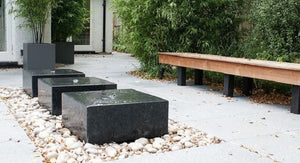 Aluminium Water Table | Water Feature | Aluminium Water Feature
