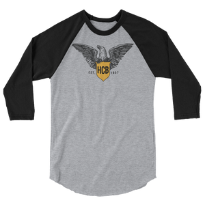Haberle Eagle 3/4 sleeve raglan shirt