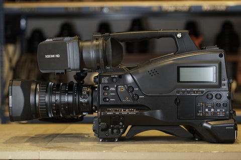 Rent Sony PMW-400 XDCAM with 16X Zoom Lens