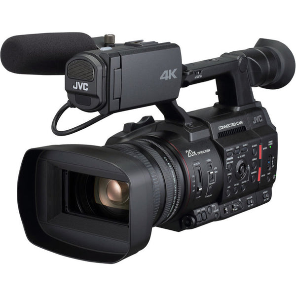 "JVC GY-HC500U Handheld Connected Cam 1"" 4K Professional Camcorder"