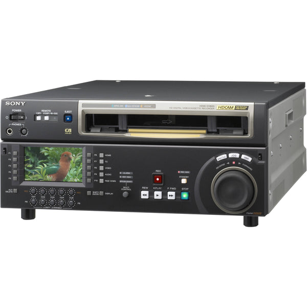 Sony HDW-D1800 CineAlta HDCAM Studio Editing Recorder with Multi-Format Compatibility and Legacy Playback