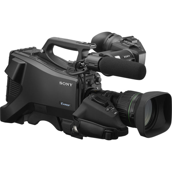Sony HXC-FB80KL 1080/60P Hd Studio Camera With Eng Vf, Mic And 20X Lens (Lemo)