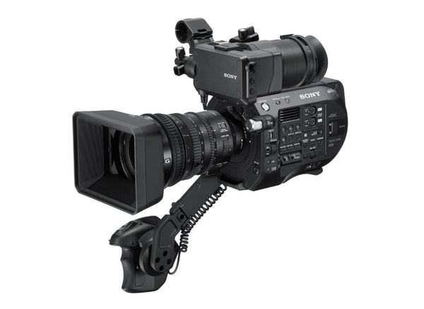 Sony PXW-FS7M2K 4K Super 35mm Exmor CMOS sensor XDCAM camera with Lens