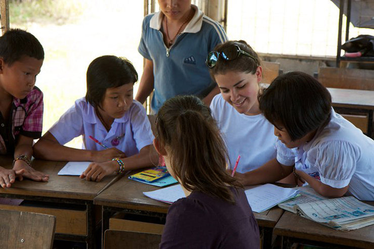 Teaching in Surin