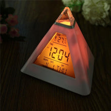Load image into Gallery viewer, Pyramid Glow Clock