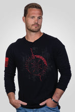 Load image into Gallery viewer, Men's Long Sleeve - Oz Compass