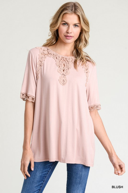 Delilah Top - Blush