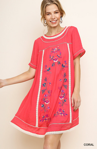 Isabelle Embroidered Dress