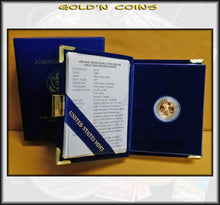 1998 Tenth Ounce Proof Gold American Eagle Original Government Packaging