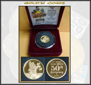 Disney 1/4 oz GOLD - Doc