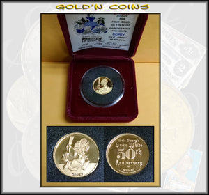 Disney 1/4 oz GOLD - Dopey